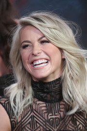 Julianne Hough looked fab with her feathered flip at the Winter TCA Tour.