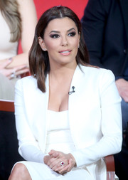 Eva Longoria's ruby and diamond engagement ring stole the show during the 2016 Winter TCA Tour.