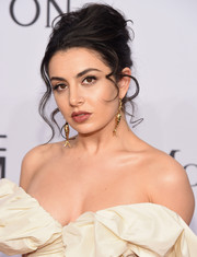Charli XCX worked a messy-glam beehive at the amfAR New York Gala.