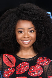 Skai Jackson worked an afro at the 2017 BET Awards.