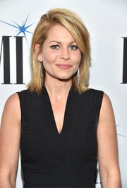 Candace Cameron Bure showed off a trendy layered hairstyle at the 2017 BMI Film, TV & Visual Media Awards.