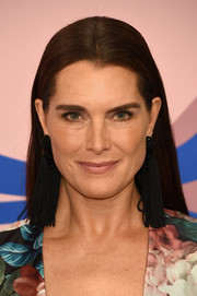 Brooke Shields went for a low-key look with this straight, center-parted 'do at the 2017 CFDA Fashion Awards.