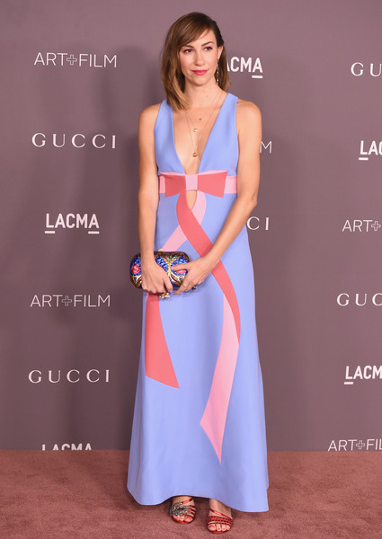 Gia Coppola in a sweet pastel dress
