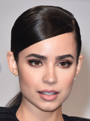 Sofia Carson kept it simple yet elegant with this slicked-down ponytail at the 2017 MTV VMAs.