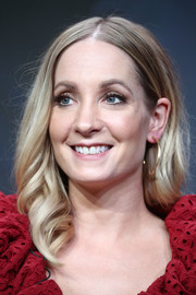 Joanne Froggatt sported a center-parted 'do with spiral curls at the 2017 Summer TCA Tour.