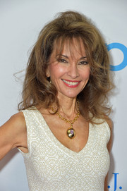 Susan Lucci sported just-got-out-of-bed hair at the 2017 T.J. Martell Women of Influence event.