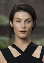 Gemma Arterton styled her hair hair into a neat and stylish bob for a TIFF portrait session.