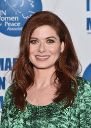 Debra Messing looked gorgeous with her flowing waves at the UN Women for Peace Association luncheon.
