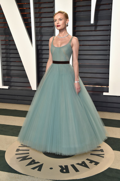Kate Bosworth in J. Mendel at the Vanity Fair Oscar Party