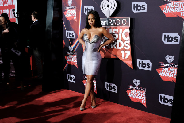 More Pics of Christina Milian Pumps (1 of 9) - Christina Milian Lookbook - StyleBistro [red carpet,dress,carpet,flooring,muscle,premiere,event,arrivals,christina milian,turner,iheartradio music awards,inglewood,california,tnt,tbs,the forum,trutv]