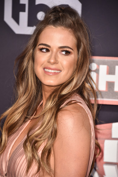 More Pics of JoJo Fletcher Bodysuit (1 of 4) - JoJo Fletcher Lookbook - StyleBistro [hair,hairstyle,blond,brown hair,eyebrow,long hair,layered hair,beauty,hair coloring,chin,arrivals,jojo fletcher,turner,iheartradio music awards,inglewood,california,tnt,tbs,trutv,the forum]