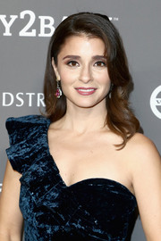 Shiri Appleby framed her pretty face with a gently wavy hairstyle for the 2018 Baby2Baby Gala.