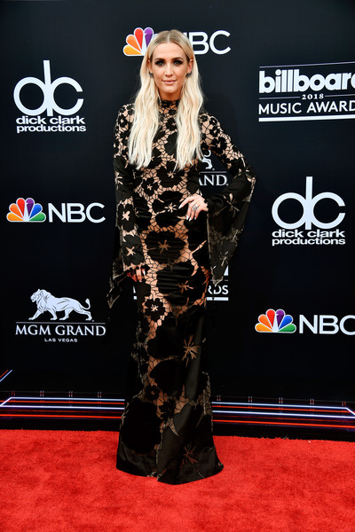 Ashlee Simpson in YANINA Couture