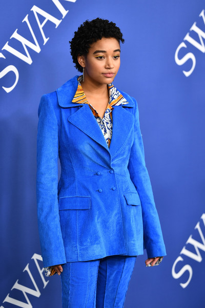 More Pics of Amandla Stenberg Pantsuit (1 of 4) - Amandla Stenberg Lookbook - StyleBistro