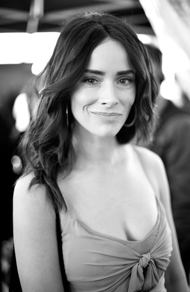 More Pics of Abigail Spencer Evening Dress (1 of 7) - Dresses & Skirts Lookbook - StyleBistro [red carpet,image,hair,face,photograph,lip,beauty,hairstyle,black-and-white,eyebrow,lady,skin,abigail spencer,film independent spirit awards,santa monica,california]