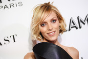 Anja Rubik looked stylish with her tousled bob at the 2018 Glamour Women of the Year Awards.