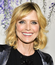 Courtney Thorne-Smith looked adorable with her curly bob at the 2018 Hallmark Channel Summer TCA event.