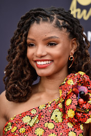Chloe Bailey looked super cool with her dreadlocks at the 2018 MTV Movie & TV Awards.