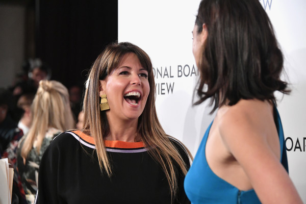 More Pics of Patty Jenkins Oversized Clutch (1 of 6) - Patty Jenkins Lookbook - StyleBistro [hair,yellow,hairstyle,fashion,event,long hair,performance,premiere,model,style,patty jenkins,gal gadot,new york city,cipriani 42nd street,l,national board of review annual awards gala]