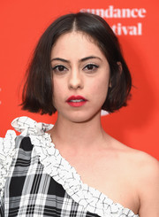 Rosa Salazar wore her hair in a center-parted bob at the Sundance premiere of 'The Kindergarten Teacher.'