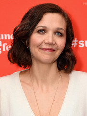 Maggie Gyllenhaal attended the Sundance premiere of 'The Kindergarten Teacher' wearing this cute wavy bob.