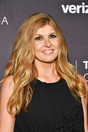 Connie Britton attended the 2018 Paley Honors wearing this boho-glam wavy hairstyle.