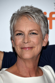 Jamie Lee Curtis sported a cool pixie at the TIFF premiere of 'Halloween.'