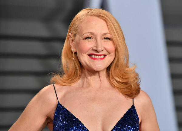 More Pics of Patricia Clarkson Flip (1 of 9) - Patricia Clarkson Lookbook - StyleBistro [oscar party,vanity fair,hair,face,facial expression,blond,beauty,hairstyle,lip,fashion,smile,long hair,beverly hills,california,wallis annenberg center for the performing arts,radhika jones - arrivals,radhika jones,patricia clarkson]