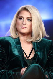 Meghan Trainor looked adorable with her bouncy bob at the 2018 Winter TCA Tour.