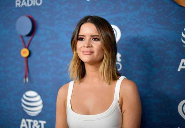 More Pics of Maren Morris Bright Nail Polish (1 of 5) - Nails Lookbook - StyleBistro [tennis,tennis player,racket,racquet sport,shoulder,chest,photography,smile,maren morris,commercial use,austin,texas,frank erwin center,at t,red carpet,iheartcountry festival]