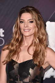 Ashley Greene looked divine with her high-volume waves at the 2018 iHeartRadio Music Awards.