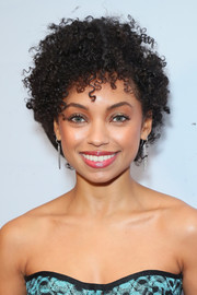 Logan Browning looked adorable with her short curly 'do at the 2019 Essence Black Women in Hollywood Awards.