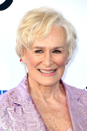 Glenn Close sported a messy-chic cut at the 2019 Film Independent Spirit Awards.