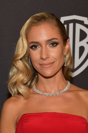 Kristin Cavallari looked super glam with her vintage-inspired waves at the InStyle and Warner Bros. Golden Globes after-party.