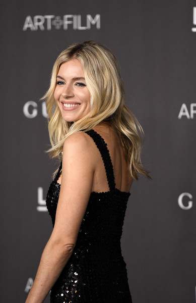 More Pics of Sienna Miller Sequin Dress (2 of 12) - Dresses & Skirts Lookbook - StyleBistro [hair,dress,blond,clothing,hairstyle,shoulder,cocktail dress,little black dress,premiere,long hair,arrivals,sienna miller,los angeles,california,gucci,lacma art film gala,lacma 2019 art film gala]