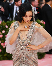 Constance Wu rocked an oversized ring at the 2019 Met Gala.