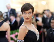 Bella Hadid looked adorable with her pixie cut at the 2019 Met Gala.