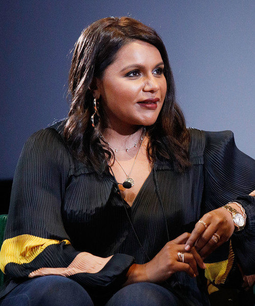 Mindy Kaling showed off a luxurious gold quartz watch at the 2019 Montclair Film Festival.