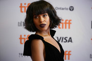 Kerry Washington sported a textured bob with blunt bangs at the TIFF premiere of 'American Son.'