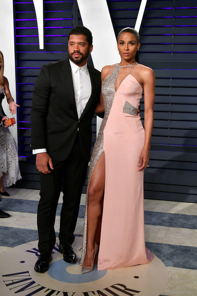 More Pics of Ciara Ponytail (5 of 10) - Ciara Lookbook - StyleBistro [oscar party,vanity fair,l,clothing,fashion,dress,formal wear,shoulder,gown,suit,event,haute couture,tuxedo,beverly hills,california,wallis annenberg center for the performing arts,radhika jones - arrivals,russell wilson,radhika jones,ciara]