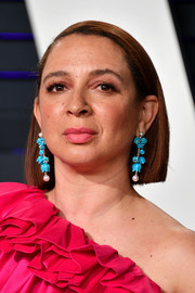 Maya Rudolph wore her hair in a blunt bob at the 2019 Vanity Fair Oscar party.