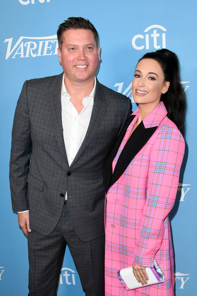More Pics of Kacey Musgraves Ponytail (1 of 12) - Long Hairstyles Lookbook - StyleBistro [suit,white-collar worker,premiere,event,outerwear,pantsuit,formal wear,award,businessperson,business,kacey musgraves,jason owen,hitmakers brunch,l-r,west hollywood,california,soho house,2019 variety,2019 varietys hitmakers brunch]
