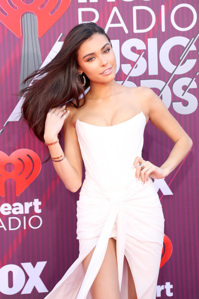 More Pics of Madison Beer Diamond Ring (2 of 9) - Gemstone Rings Lookbook - StyleBistro [red carpet,clothing,dress,lady,beauty,magazine,fashion,fashion model,model,leg,shoulder,madison beer,iheartradio music awards,commercial use,california,los angeles,microsoft theater,fox]