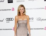 Actress/model Brooklyn Decker arrives at the 20th Annual Elton John AIDS Foundation's Oscar Viewing Party held at West Hollywood Park on February 26, 2012 in West Hollywood, California.