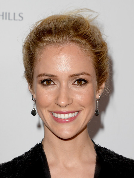 More Pics of Kristin Cavallari Bobby Pinned Updo (1 of 8) - Bobby Pinned Updo Lookbook - StyleBistro