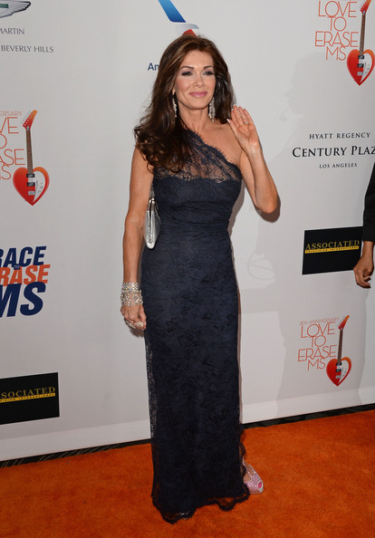 More Pics of Lisa Vanderpump One Shoulder Dress (1 of 14) - Lisa Vanderpump Lookbook - StyleBistro