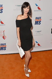 Catherine Bell's LBD looked super sleek and sexy on the actress.