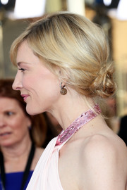 Cate Blanchett teamed this twisted chignon with her halter gown for a goddess-worthy look during the SAG Awards.