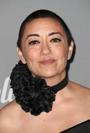 Ane Crabtree went for a buzzcut at the 2018 Costume Designers Guild Awards.