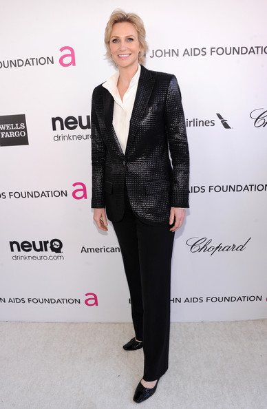 Jane Lynch at Elton John's 2013 Oscars Party